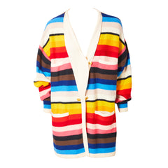Sonia Rykiel Oversized  Wool Knit Cardigan
