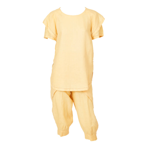 Ronaldus Shamask Linen Tunic and Knickers Ensemble