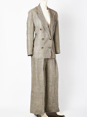 Ronaldus Shamask Glen Plaid Pants Suit