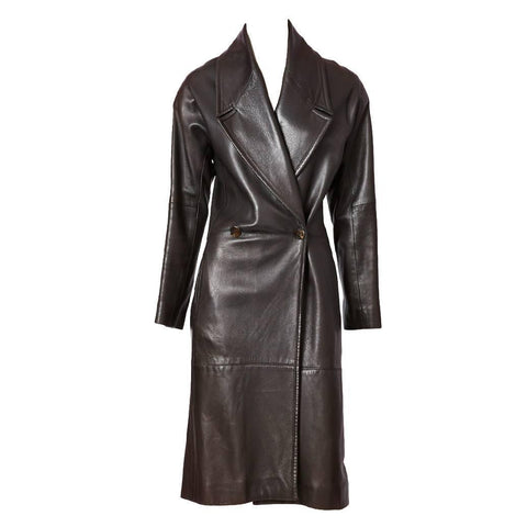 Ronaldus Shamask leather Coat