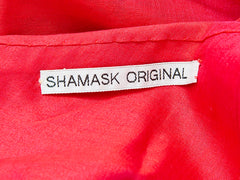 Shamask One Shoulder Tiered Dress