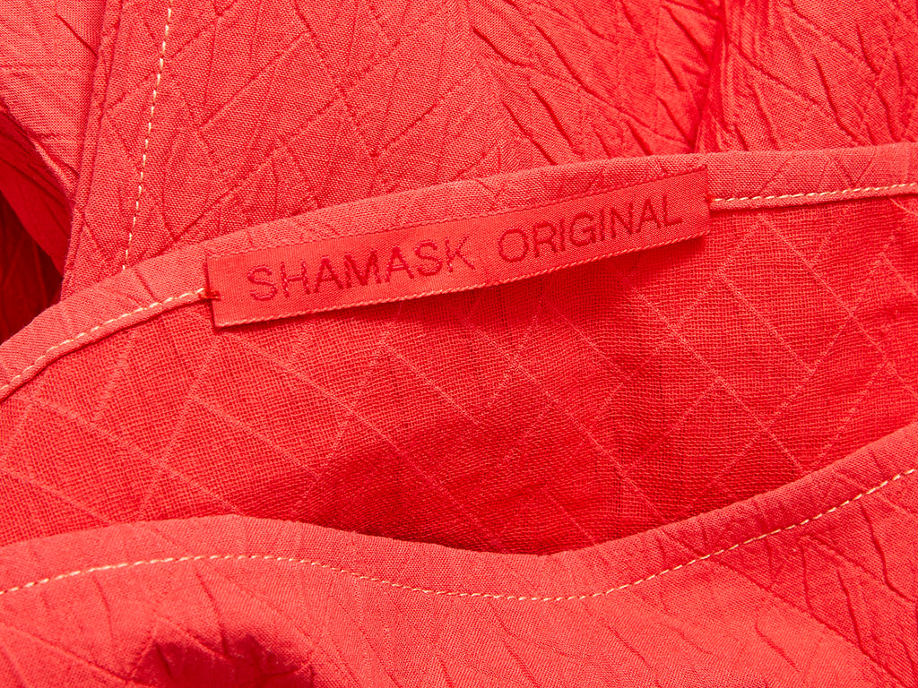 Shamask Cotton Cloché Origami Pant Ensemble