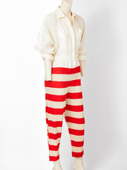 Shamask Rugby Stripe Jumpsuit
