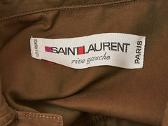 Yves Saint Laurent Iconic Saharienne C. 1968