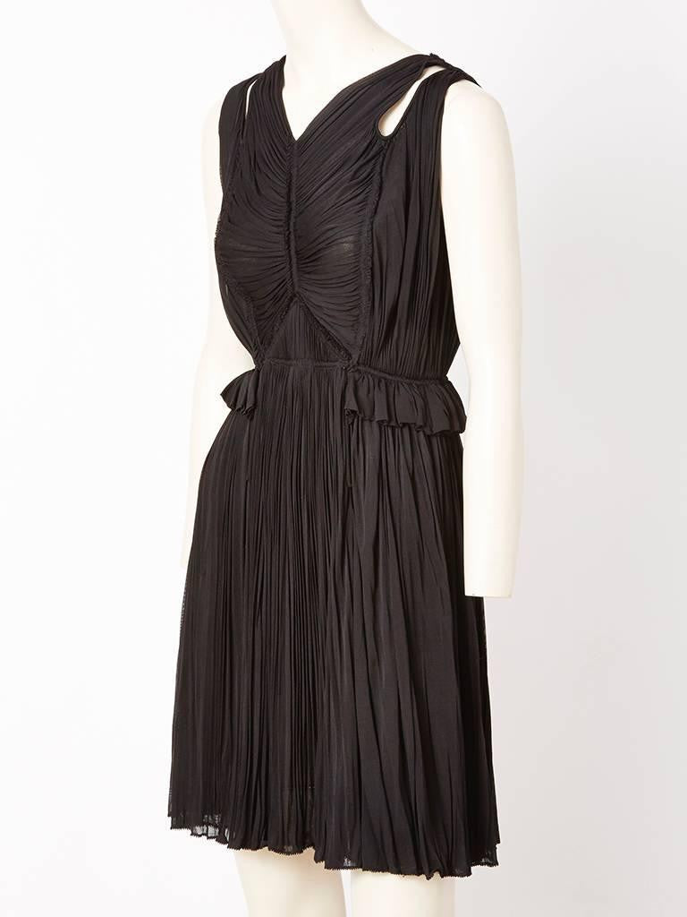 Isabel Toledo Silk Jersey Cocktail Dress