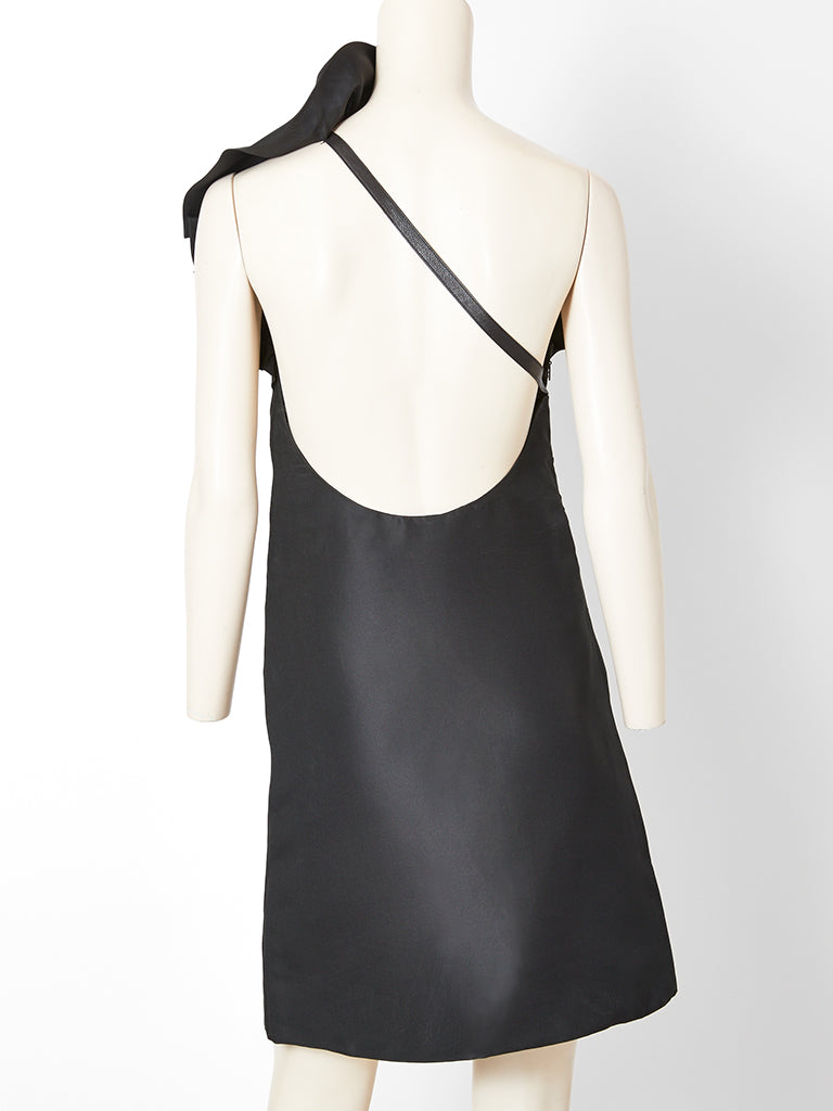 Tom Ford Gucci Runway One Shoulder Cocktail Dress