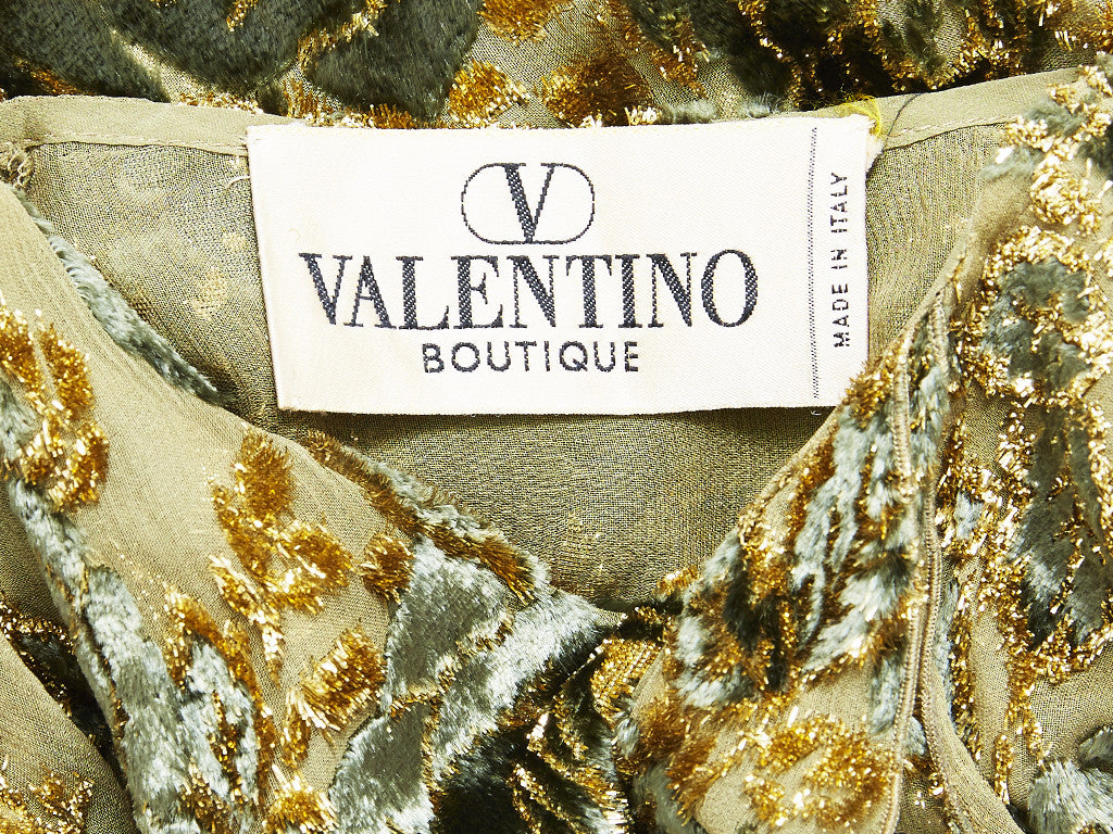 Valentino Cut Velvet Evening Jacket/Tunic