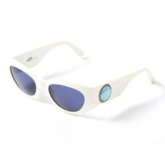 Versace White Sunglasses