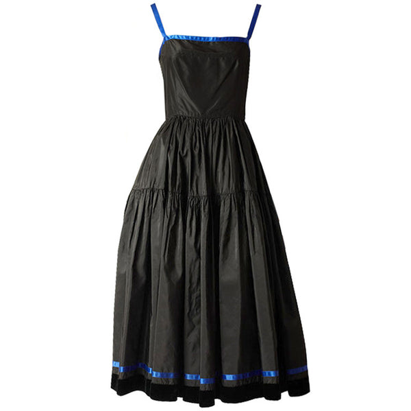 Oscar de la Renta Taffeta Dress