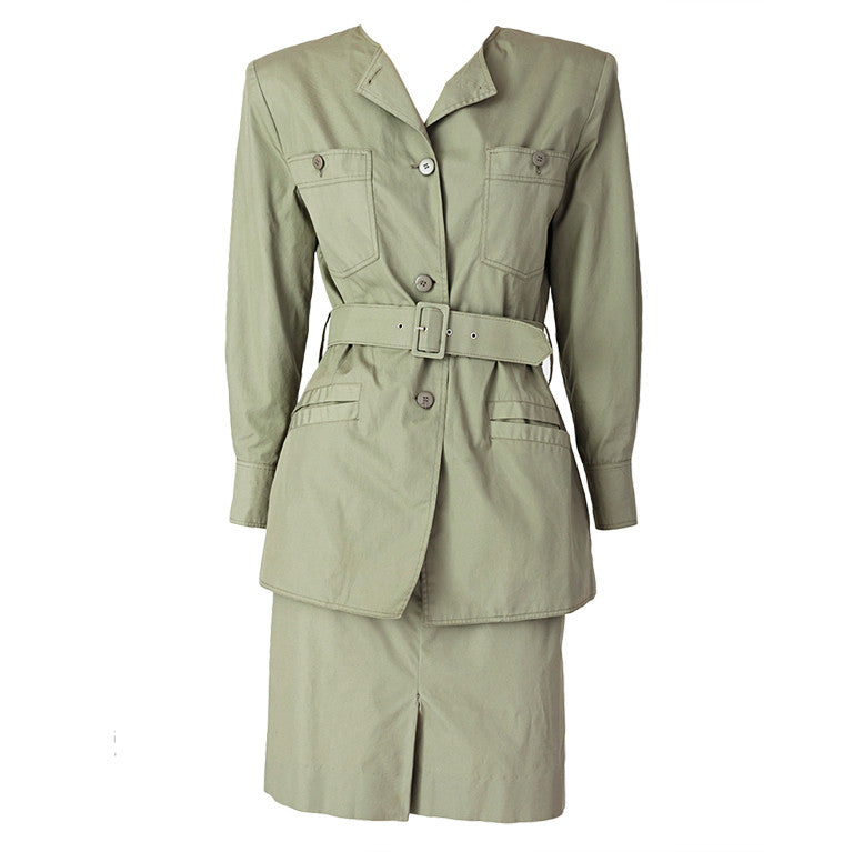 "Courreges ""Safari"" Suit"