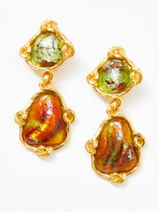 Yves Saint Laurent Baroque Drop Earrings