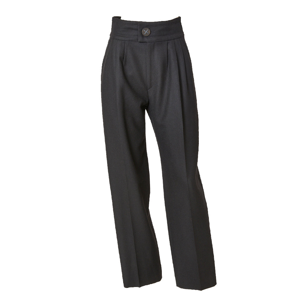 Yves Saint Laurent Rive Gauche High Waist Trouser