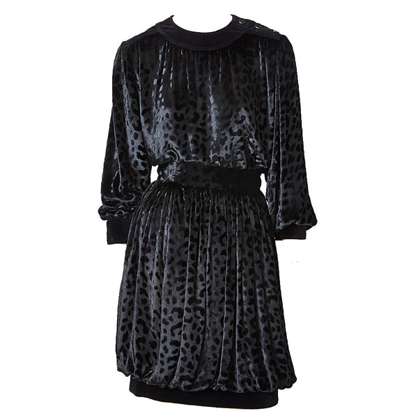 Yves Saint Laurent Russian Collection Velvet Evening Ensemble