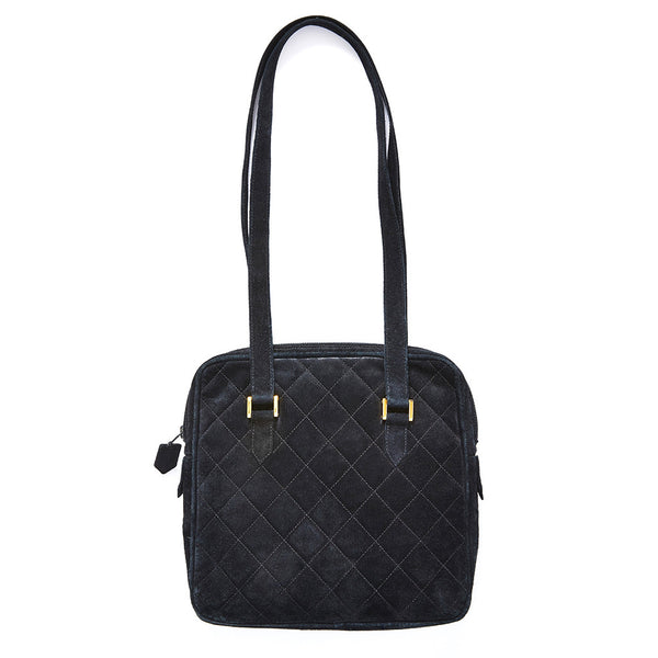 Yves Saint Laurent Quilted Suede Bag