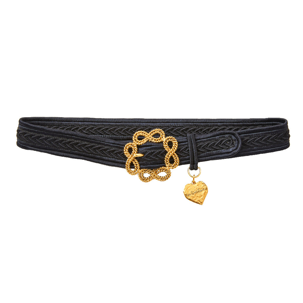 Yves Saint Laurent Rive Gauche Love Belt