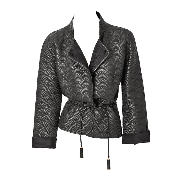 Tom Ford Yves Saint Laurent Quilted Leather Jacket