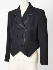 Yves Saint Laurent Tuxedo-Spencer Jacket