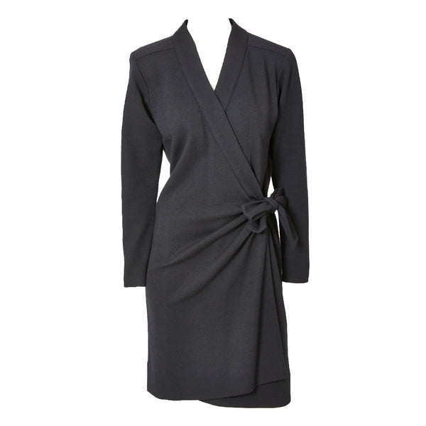 Yves Saint Laurent Rive Guache Wrap Dress