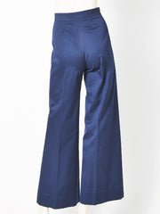 Yves Saint Laurent Cotton Sailor Pant C. 1970's