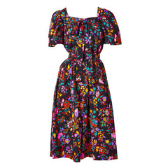Yves Saint Laurent Cotton Floral Print Ensemble