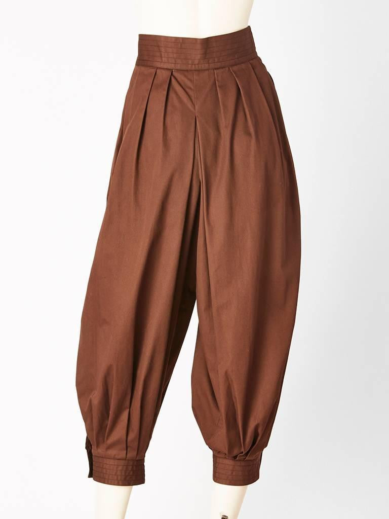 Yves Saint Laurent Zouave Pant