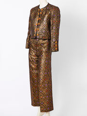 Yves Saint Laurent Brocade Dinner Suit