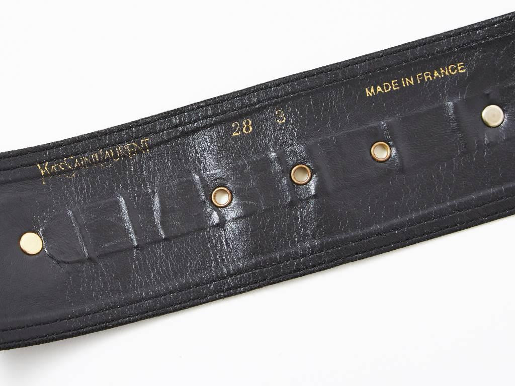 Yves Saint Laurent Coin Belt