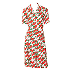 Yves Saint Laurent Iconic 70's Shirt Dress