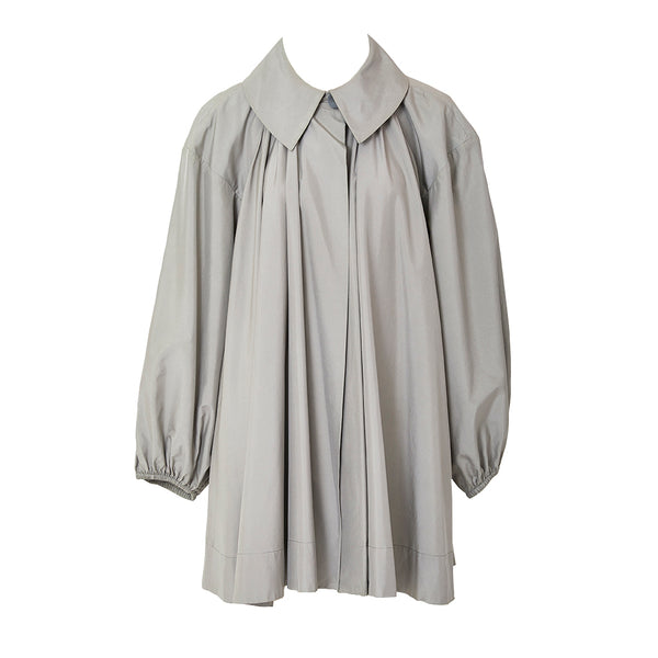 Yves Saint Laurent Taffeta Swing Jacket