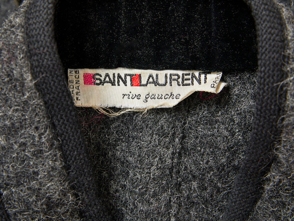 Yves Saint Laurent Chinese Collection Belted Wool Jacket
