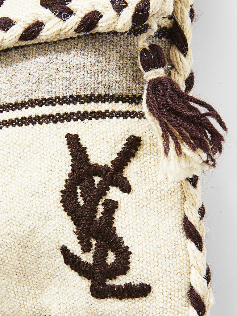 Yves Saint Laurent Greek Style Tassel Bag