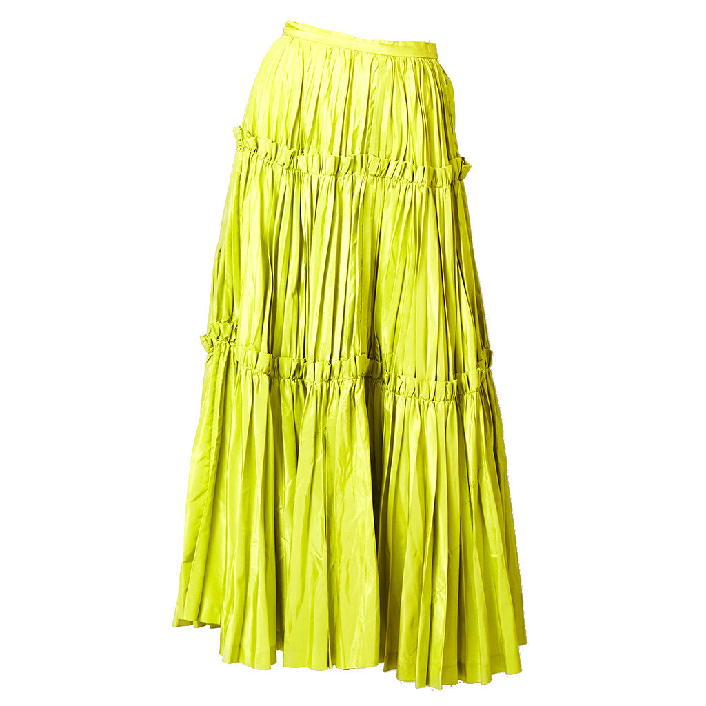 "Yves Saint Laurent Taffeta ""Gypsy"" skirt"