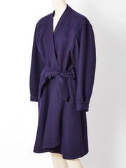 Yves Saint Laurent Couture Belted Coat