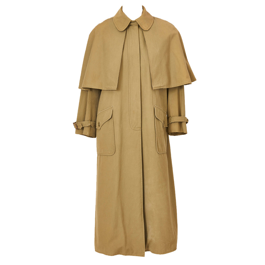 Yves Saint Laurent Poplin Raincoat 1970's