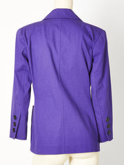 Yves Saint Laurent Cotton Summer Blazer