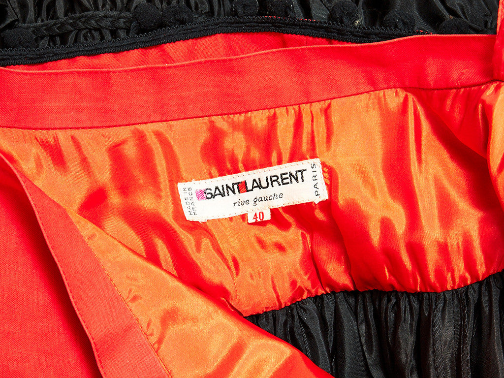 "Yves Saint Laurent ""Gypsy"" Skirt"