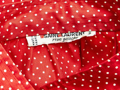 Yves Saint Laurent Polka Dot Shirt