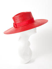 Yves Saint Laurent Wide Brim Straw Hat