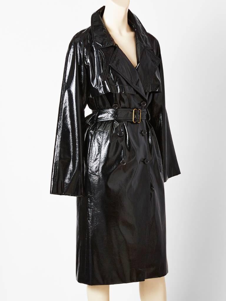 Tom Ford For YSL Belted Trench