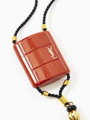 Yves Saint Laurent Opium Pendent Necklace with Tassel