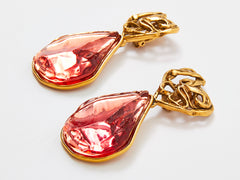 Yves Saint Laurent Rive Gauche Drop Earrings