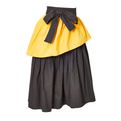 Yves Saint Laurent Rive Gauche 70's Tiered Skirt