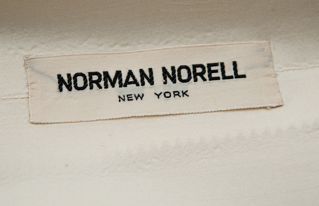 Norman Norrel Ivory Moygashel Linen Day Ensemble