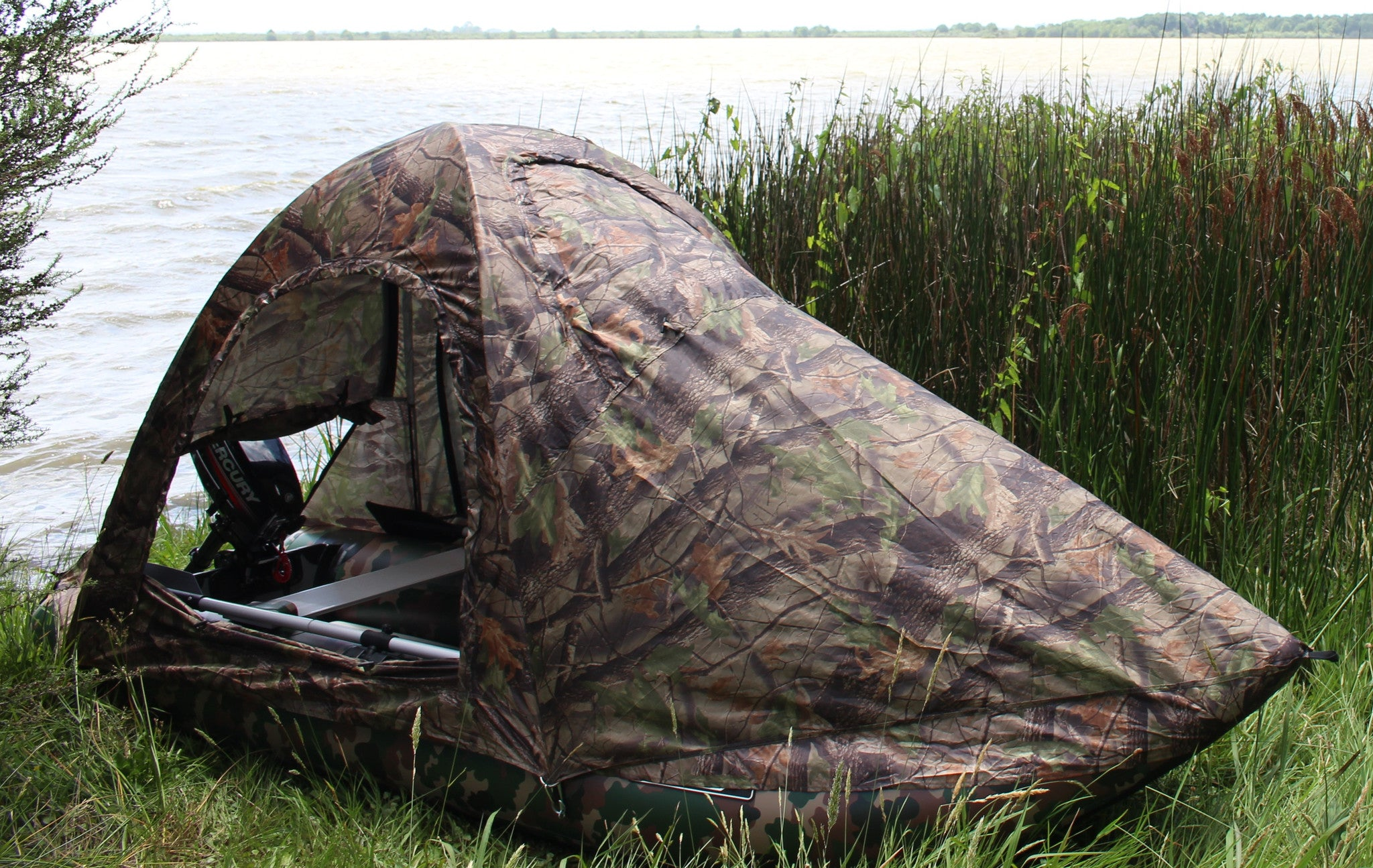 watch boat nelson youtube blind tracker blinds grizzly duck