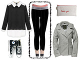 Girls' Education - Black Pencil Legging - R.O.S.E. clothing