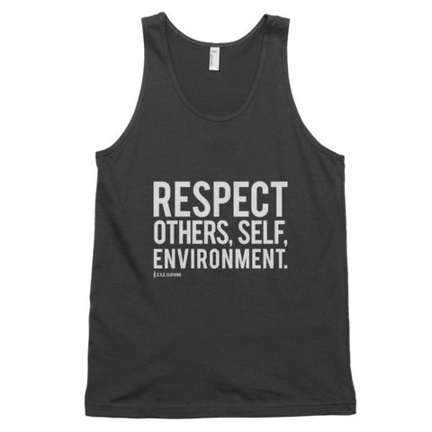 Spread Respect - Classic Unisex Tank Top - R.O.S.E. clothing