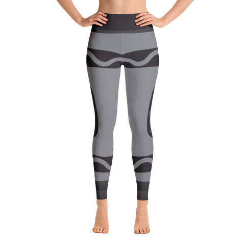 Girls' Education - Black Crayon Yoga Leggings - R.O.S.E. clothing