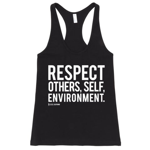 Spread Respect - Women's Tank Top - R.O.S.E. clothing