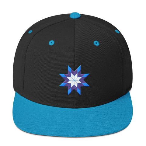 Empower Native Youth - Lakota Star Snapback Hat - R.O.S.E. clothing