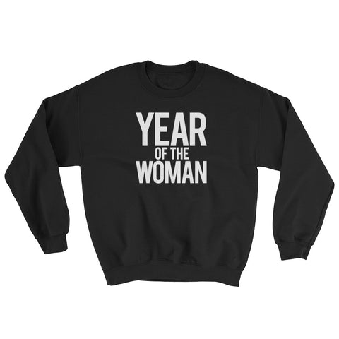 Support & Empower Women - Mod Year of the Woman Dark Color Sweatshirt - R.O.S.E. clothing